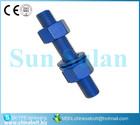 ASTM A193 B7 A194 2H stud bolt and nut