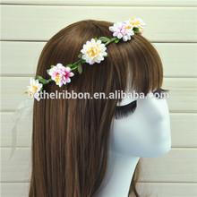 Flower hair wire wreath rings supplies wholesale