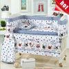 10 piece sets girl brand monkey sheets