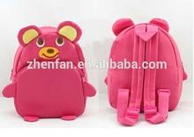 pink bear school children backpacks
