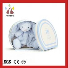 Custom Super Cute Little Bunny Rabbit / Plush Metoo Rabbit Toy With Box