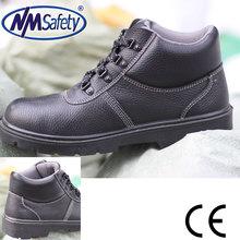 Nmsafety sapatos de trabalho / calçados de segurança industrial / conforto sapatos de segurança