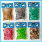 Wholesale Child DIYJewelry Fashion Durable 600pcs Package Natural Metallic crazy rubber bands wholesale