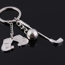Zinc alloy 3d hockey keychains for wholesale