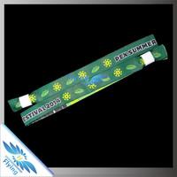 2015 customer new popular woven school wristbands for school sports