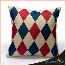 Geometry Printing Cotton Linen Cheap Chair Cushions