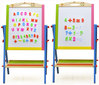 fans drawings to paint / wooden watercolor set / educational toys kindergarten / alphabet letter writing