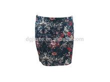 2015 ladies print wrap skirt