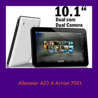 "wholesale 2014 10.1"" Allwinner A23 android 4.2 dual camare dual core tablet pc computer"