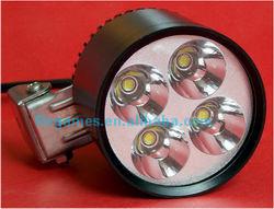30w 3000lm 4*u2 cree waterproof led lights for harley davidson motorcycles