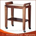 in legno più recenti cosmetico disegni carrelli apparecchiatura della stazione termale del viso carretto di legno su misura
