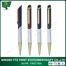 new Shiny brass metal pen made in China