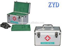 aluminum medical equipment box medical instrument carrying cases