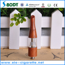 Newest and best selling wood colored painted 510 clearomizer D-03 atomizer with huge vapor