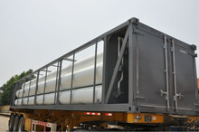 Compressed Natural Gas Trailer Skids, Jumbo Seamless Cylinder