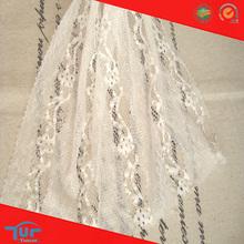 White Summer Cool Guipure Bridal 3D Hollow Mesh Fabric