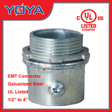 UL Listed EMT steel Connector