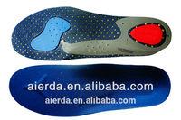 Comfortable Soft eva massage point hard plastic poron shoes Insole