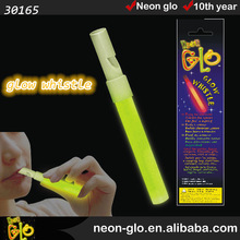 outdoor glow, hot sale glow whistle with cheaper price