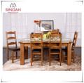 Muebles de roble, de madera mesas de comedor