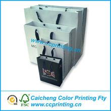 square bottom paper shopping bag