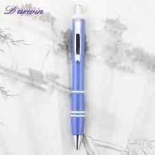 Blue sexy high quality slogan pen