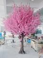baratos al por mayor de flores artificiales forjado al aire libre iluminado de flor de cerezo de los árboles