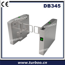 CE approved access security remote control elegant 304 stainless steel swing barrier gate