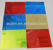 colored acrylic/pmma/plexiglass mirror sheet