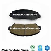 Auto parts 2005 mitsubishi pajero disc brake pad for promotion used car parts in Dubai