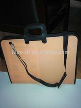 A1 painting portfolio Large Artist Portfolio Carrying Case zip drafting bag