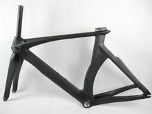 Triathlon bicycle full carbon tt frame, aero time trial carbon bike frame, Non-isp carbon frame time trial bicycle