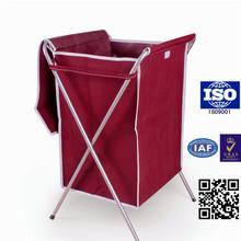 Handle large canvas mesh colored plastic laundry baskets