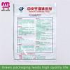 China supplier ziplock plastic clear waterproof zipper bag