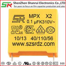 VDE,ENEC,UL,CQC Safety complicant mkp x2 capacitor formagnetic motor generator