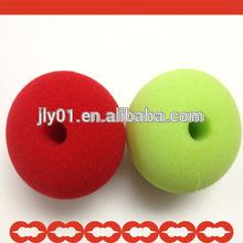 wonderful red playing sponge nose/sponge clown nose