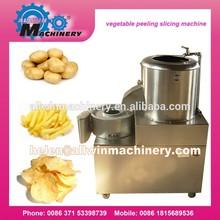 advanced potato chips peeling machine with high speed
