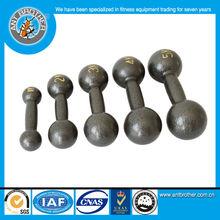 25kg Commercial Use Grey Round Hammerton Dumbbells
