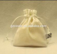 jewelry small high-end drawstring bag velvet