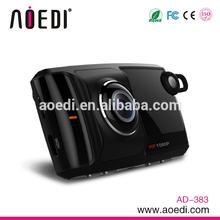 HD dual camera car dvr 1080p with G-sensor and bluetooth AD-383