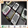 Metal Aluminum Shockproof Gorilla Glass waterproof mobile phone case for iphone 5
