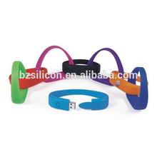 durable bracelet usb stick ,personalized usb stick ,bulk cheap bracelet usb2.0