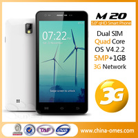 cheap 5.0inch quad core dual sim gsm mobile phone 1gb ram