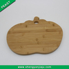 Vegetable round cutting board wood