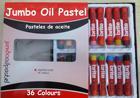 36oil pastel manufacturer for school kids