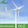 3000W 3 Blades Horizontal Axis Wind Turbine