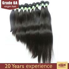 6A virgin human brazilian straight milky way human hair