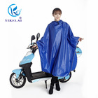 High quality waterproof with a wide brim bicycle poncho