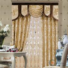 China jacquard curtain fabric curtain track slides