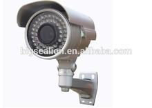 Onvif 0.3Megapixel Metal Housing Outdoor IP Camera With 1/4'' CMOS Mainboard